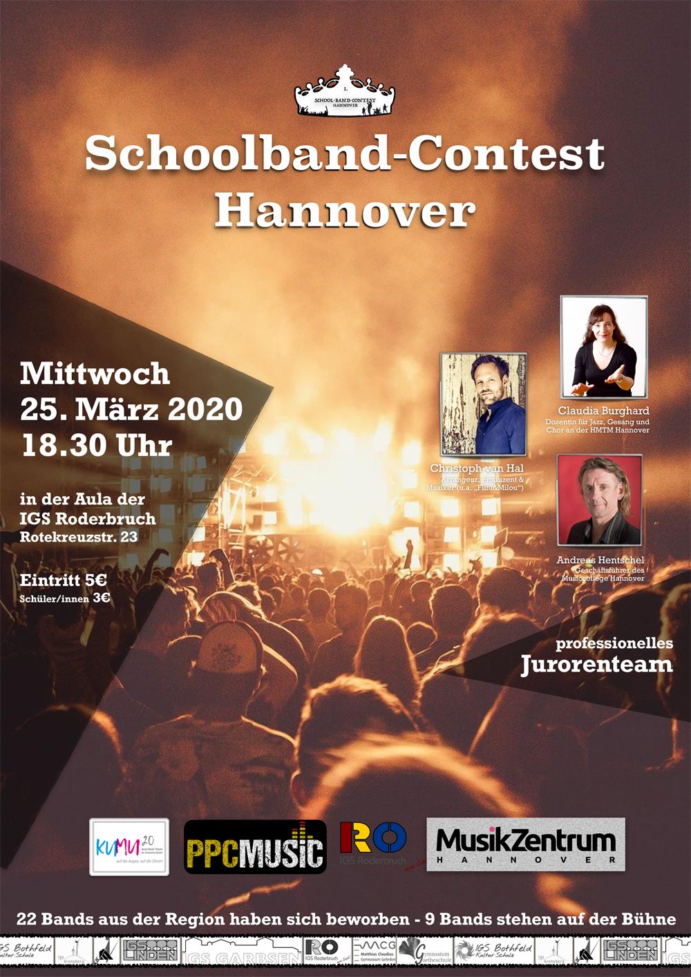 Igs Roderbruch Projekt 1 Schoolband Contest 2020 Hannover Kumu20